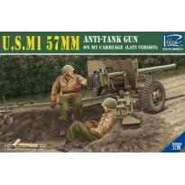 U.S.M1 57mm Anti-tank Gun on M2 carriage Late Version (1:35)