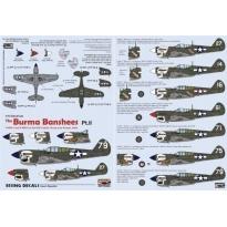 Burma Banshees Pt.II (1:72)