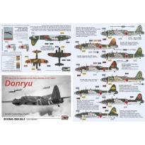 """Army Heavy Bomber Ki-49 """"Donryu"""" (1:72)"""