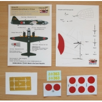 "Radar Antenna Type 3 Ku-6 for G4M2 (early version) + decals ""951-1-363"" (1:72)"