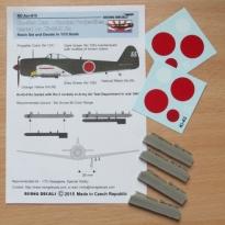 Rockets for Ki-43-II + decals (1:72)