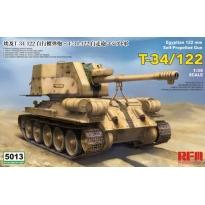 Egyptian 122 mm T-34/122 (1:35)