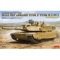 M1A2 SEP Abrams TUSK I /TUSK II with full interior (1:35)