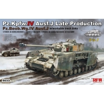 Pz.Kpfw.IV Ausf.J Late Production.Pz.Beob.Wg.IV Ausf.J (2 in 1) (1:35)