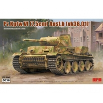 Pz.Kpfw.VI (7,5cm) Ausf.B (VK36.01) w/ workable track links (1:35)