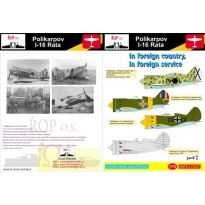Polikarpov I-16 Rata - In a foreign country, in the foreign service part 2 (1:72)