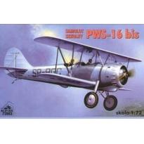 Samolot szkolny PWS-16 bis (1:72)