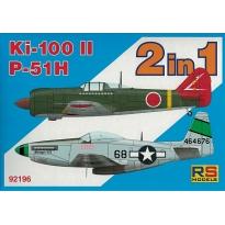 """Ki 100 II/P-51H """"2 in 1"""" (1:72)"""