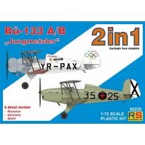 """Bücker 133 A/B """"Jungmeister"""" (2 in 1) (1:72)"""