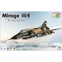 """Mirage IIIE """"Exotic"""" (1:72)"""