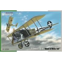 """Fokker D. II """"Black & White Tail""""  (1:32)"""