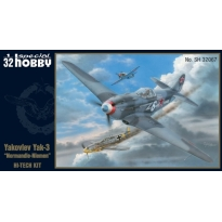 "Yakovlev Yak-3 ""Normandie-Niemen"" Hi-Tech Kit (1:32)"