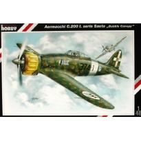 """Aermacchi C.200 Saeta I.serie Saeta """"Bubble Canopy"""" (1:48)"""