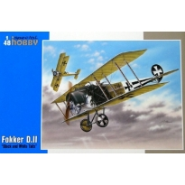 "Fokker D.II ""Black and White Tails"" (1:48)"