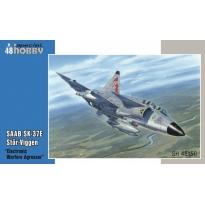 """SAAB SK-37E Stör-Viggen """"Electronic Warfare Agressor"""" (1:48)"""
