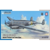 "Siebel Si 204D ""German Transport and Trainer Plane"" (1:48)"