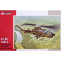 "Bell AH-1G Cobra Early Version ""over Vietnam"" (with M-35 Gun) (1:72)"
