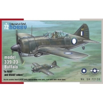 "model 339-23 Buffalo "" In RAAF and USAAF colors"" (1:72)"