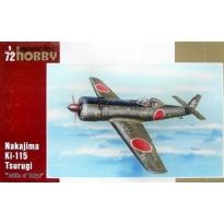 """Nakajima Ki-115 Tsurugi """"Battle of Tokyo 1946"""" (1:72)"""