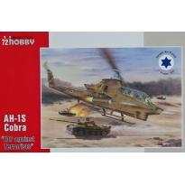 "AH-1S Cobra ""I.D.F. against Terrorists"" (1:72)"