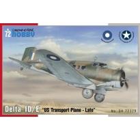 Delta 1D/ E US Transport plane (1:72)