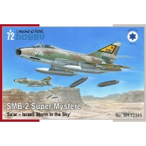 SMB-2 Super Mystère 'Sa'ar – Israeli Storm in the Sky' (1:72)