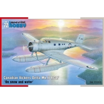 """Canadian Vickers Delta Mk. II RCAF """"On snow and water"""" (1:72)"""
