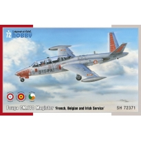 "Fouga CM.170 Magister ""French, Belgian & Irish Service"" (1:72)"