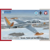 Fouga CM.170 Magister German, Finnish and Austrian (1:72)