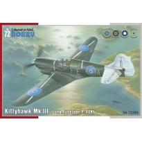 """Kittyhawk Mk. III """"P-40 K Long Fuselage"""" (1:72)"""