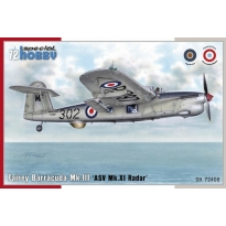 "Fairey Barracuda Mk. III ""ASW Mk. XI Radar"" (1:72)"