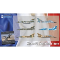 Mirage F.1 Duo Pack & Book (1:72)