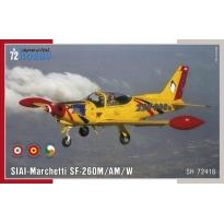 SIAI-Marchetti SF-260M/AM/W (1:72)