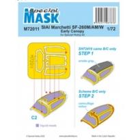 SIAI-Marchetti SF-206M/AM/W Mask (1:72)