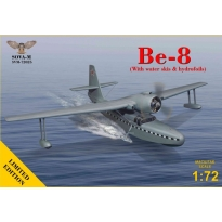Be-8 Amphibian aircraft (with water skis & hydrofoils) (1:72)