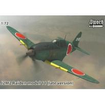 J2M2 Raiden model 11 (late version) (1:72)