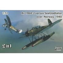 Arado Ar196A-2 versus Sea Gladiator over Norway (2 in 1 series) (1:72)