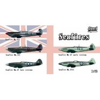 Seafires (Zestaw zawiera 5 modeli)  (1:72)