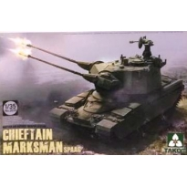 British Air-defense Weapon System Chieftain Marksman SPAAG (1:35)