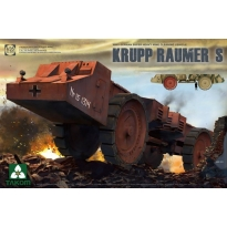 WWII German Super Heavy Mine Cleaning Vehicle Krupp Raumer S (1:35)