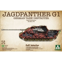 German Tank Destroyer Sd.Kfz.173 Jagdpanther G1 Late Production Full Interior (1:35)