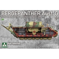 German Armored Recovery Vehicle Sd.Kfz.179 Bergepanther Ausf. G Full Interior (1:35)