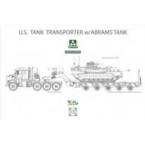 M1070 & M1000 w/ M1A2 SEP Abrams Tusk II (1:72)