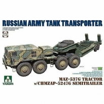 MAZ-537G Tractor w/ CHMZAP-5247G Semitrailer (1:72)