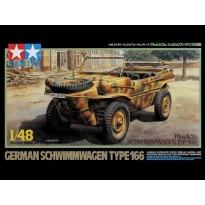 German Schwimmwagen Type 166 Pkw K2s (1:48)