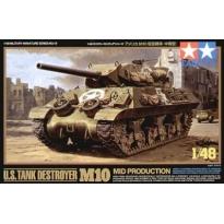 U.S.Tank Destroyer M10 Mid Production (1:48)