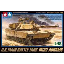 U.S.Main Battle Tank M1A2 Abrams (1:48)