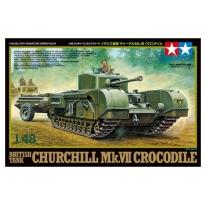 British Tank Churchill Mk.VII Crocodile (1:48)