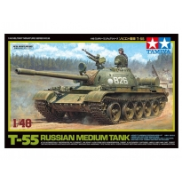 Russian Medium Tank T-55 (1:48)