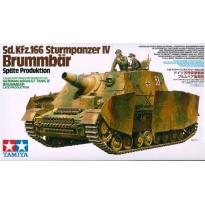 Sd.Kfz.166  Strumpanzer IV Brummbar (1:35)